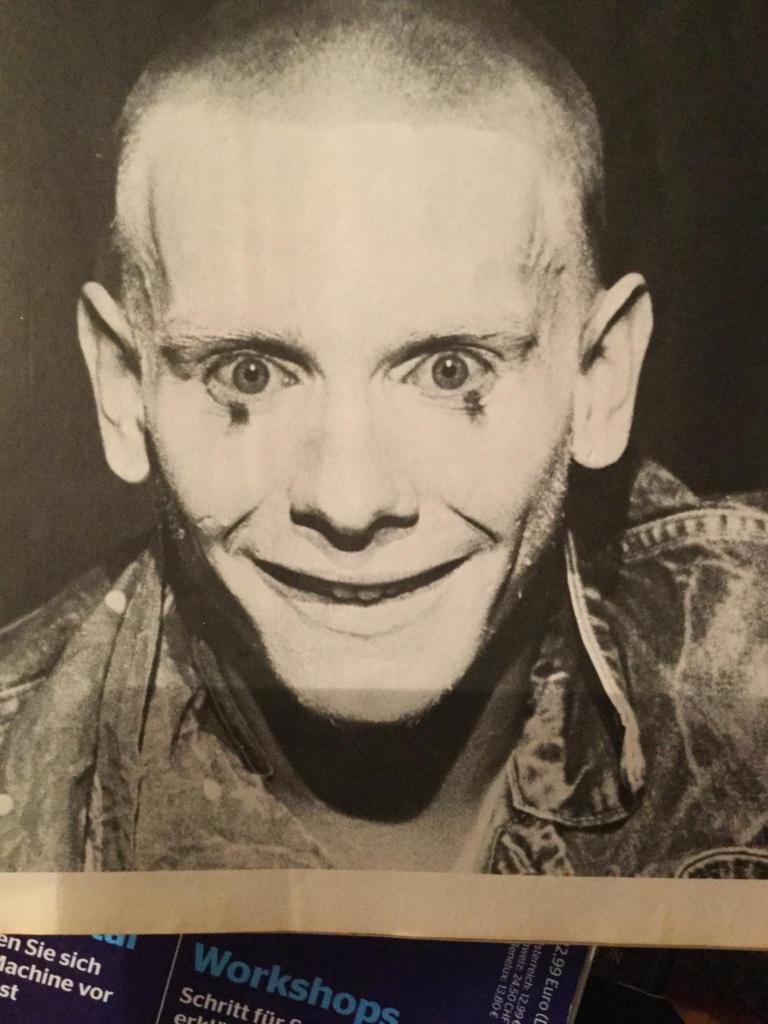 """""""Komiker Trevor Grifith"""" Regie Peter Zadek Thalia Theater Hamburg Schauspieler des Jahres 1978"""